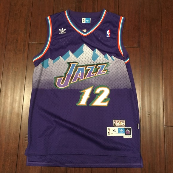 get cheap 7bddf 50808 John Stockton Hardwood Classics Utah Jazz Jersey
